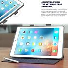 Apple iPad Pro 9.7 Case With Pencil Holder Compatible w/ Apple Smart Keyboard