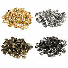 New DIY Metal Punk Square Pyramid Spike Rivet Studs Nailhead Craft (Size:10MM)