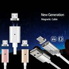 Upgraded Easy Magnetic Micro USB Charger Charge Cable Adapter For Android Phones
