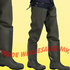 Waders Thigh Length Amblers 'Forth' Steel toecap fishing-Industrial flood 1003TW