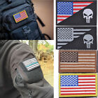 2016 8x5cm Patches Shoulder board Embroidered Patch,USA Flags/Skull Head