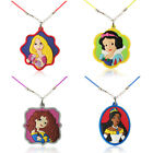 Lovely 1-5pcs beautiful Princess cartoon necklace pendant accessories kids gifts