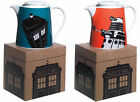 Dr Who / Doctor Who Stoneware Teapot Dalek / Tardis New Official BBC In Box