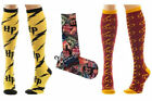Harry Potter Adult Size Knee High Socks Cosplay Collage Logo - New + Official