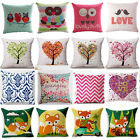 Nature landscape Cotton Linen Pillow Cover Sofa Cushion Cover Home Decor