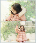 1733 Boutique Floral Allover Padded Winter Coat Fur Rim Hood Light Weight & Warm