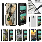 For HTC Desire 520 Case Hard Snap On 2 Piece Slim Shell Hunting Outdoor