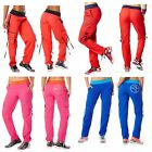 Authentic Zumba Wear Soft N' Stretch Cargo Pants ~ Multiple Colors ~ New w/Tags!