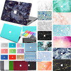 "Rubberized Marble Hard Case+Keyboard Cover for New Macbook Air 11"" 12"" Pro 13""15"