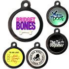 Cute Fun Pet Dog Cat ID Collar Tag - Engraved FREE - Pet Tags - Movie Themed Tag