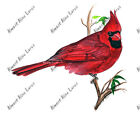 Cardinal Bird Sticker Decal Home Office Dorm Wall Exclusive Art Tablet CPU Cell