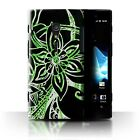 STUFF4 Phone Case/Back Cover for Sony Xperia ion LTE/LT28 /Henna Paisley Flower