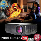 7000 Lumens LED Projector Home Theater USB TV 3D HD 1080P Business VGA/HDMI OHBU