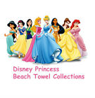 Disney Princess Beach Towel Cinderella/Belle/Snow White/Ariel