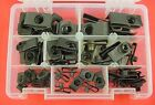 1946-1980 Ford 53Pc Assortment Extruded U-Nut Clips Kit Hood Body Panel Fender