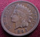 1895 INDIAN HEAD CENT - EXTRA FINE +++ - NICE TONING ++++