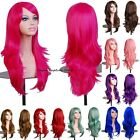 long Layered Wavy Curly Full Pastel Wig Fairy Anime Cosplay Party Costume Hair