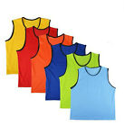6 Set Scrimmage Soccer Football Basketball Mesh Vests for Training Match New
