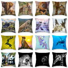 18'' Animals Style  Polyester Pillow Case Sofa  Cushion Cover Home Decor