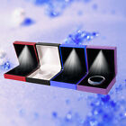 LED Light Bangle Bracelet Gift Box Case Jewelry Display Wedding Premuim Supply