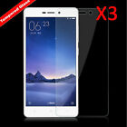 100% Genuine Tempered Glass Screen Film Protector Cover For Xiaomi Redmi 3S/3Pro
