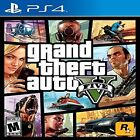 Grand Theft Auto V PlayStation 4 Standard Edition Ps4 Games Sony Factory Sealed