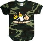 Camouflage Choose Your Weapon  Baby Newborn Infant Onesie
