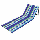 Yelo Folding Beach / Camping Chair / Matt / Sun Lounger - Pink or Blue