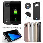 5200mAH Power Bank Case For Samsung Galaxy S7 Edge Pack Backup Battery Charger
