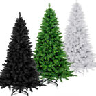 Artificial Christmas Tree Plastic Natural Looking Colours Styles Sizes Deal Sale