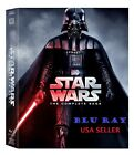NEW Star Wars: The Complete Saga (Blu-ray Disc, 9-Disc Set, Boxed Set) Blu Ray *
