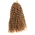 Ombre Color Auburn #30 MALI BOB CURL Curly Twist Crochet Braiding Hair Synthetic
