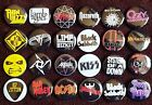 Heavy Metal Button Badges (Collection 1). Pins. Collector.  25 mm in size. :0)