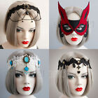 Gothic Lace Vintage Crown HEADBAND Headpiece Costume Party Halloween Cosplay