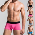fashionable underwear - Fashion Trunks Male Underwear Men's Boxer Briefs Shorts Underpants Bulge Pouch