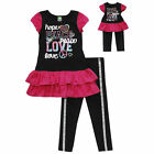 "NWT DOLLIE AND ME DRESS & LEGGINGS 18"" MATCHING DOLL DRESS 5 FITS AMERICA GIRL"