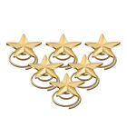 Bridal Gold Stars Twist Hair Spin Pins Swirl Spiral Head Decoration HA235
