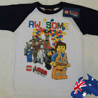LEGO Movie AWESOME Boys Long Sleeve Shirt! BNWT! FAST&FREE POSTAGE!