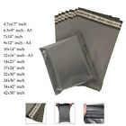 Grey Colour Mailing bags Parcel Bags Polythene Plastic sizes Available in Inches