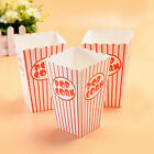 Party Popcorn Boxes Red Striped Coloured Popcorn Parties Hollywood Treats