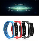 Sports Bluetooth Touch Screen Fitness Tracker Health Wristband Smart Bracelet