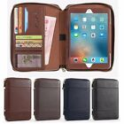Multifunctional Leather Bag Wallet Case Cover For iPad 2 3 4 5 6/Air/Mini/Pro