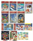 Medici Advent Calendars cards -  24 doors mini advent calendar cards