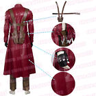 DMC Devil May Cry Dante Halloween Clothing Cosplay Costume Red Long Coat Pants