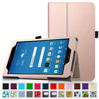 "For AT&T Trek 2 HD 8"" 6461A 2016 4G LTE Android Tablet Folio Case Cover Stand"