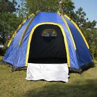 Waterproof 3-4 People Automatic Instant Pop up Family Tent Camping Hiking Tent #