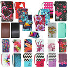 For Apple iPhone 7 /7 PLUS Pouch Wallet Flip Case Stand Cover /Free temper glass