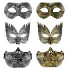 FESTNIGHT Vintage Style Mask Halloween Masquerade Ball Mask w/ Silk Ribbons C5P3