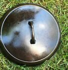 Griswold Cast Iron Skillet Lid #9 LARGE BLOCK Logo Cast Iron Easy Clean Rare
