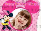Minnie Mouse Birthday Edible Image Cake Topper Personalized Icing Sheet